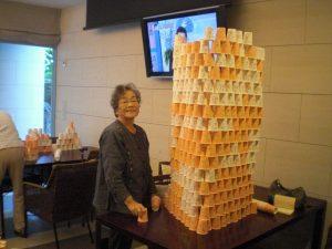 Tさんコップタワー