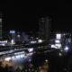 グラスセゾン13階からの眺望(夜22時編)