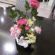 ☆食事のテーブルにもお正月のお花飾りを☆