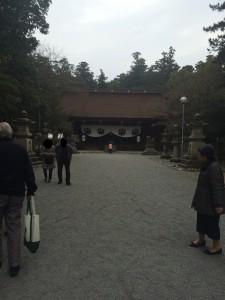 多田神社境内