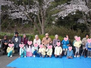 桜散歩 記念撮影